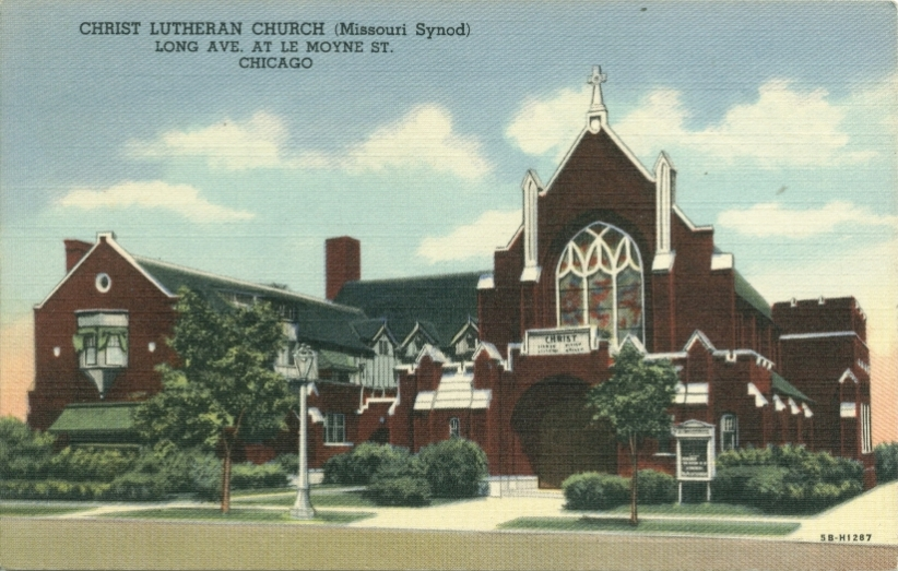 Lutheran Churches Chicago History In Postcards