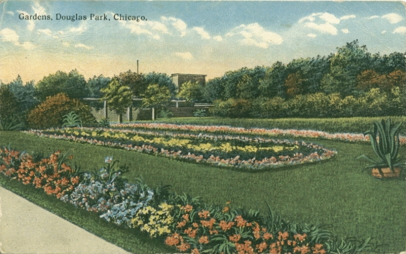 Douglas park chicago history in postcards - Douglas gardens elementary school ...