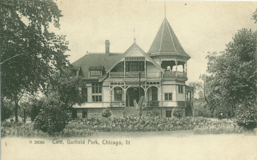 Garfield Park Chicago History In Postcards