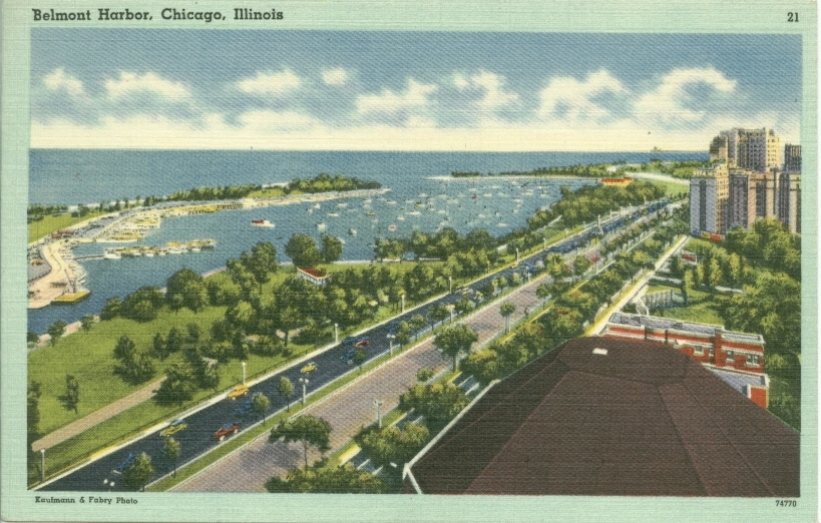 Lincoln Park Chicago History In Postcards