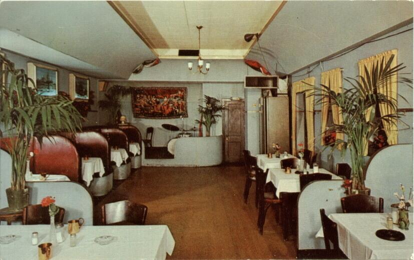 restaurants newer l r chicago history in postcards. Black Bedroom Furniture Sets. Home Design Ideas