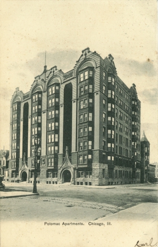 Lodging – Apartments – Chicago History In Postcards