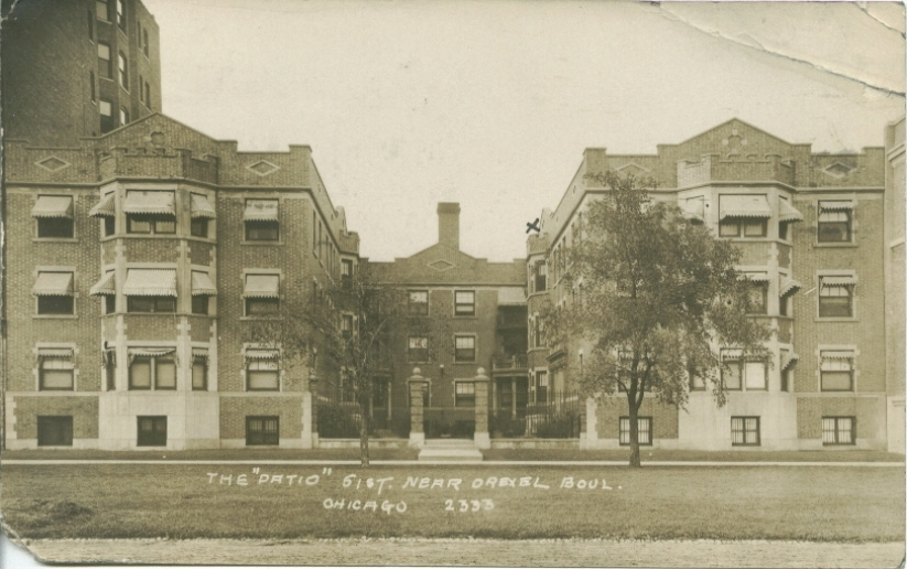 The Patio Apartments C. 1909